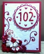 Grandmother's 102nd Birthday Card