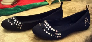 Blinged Out Flats Sides