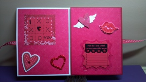 The Cutting Cafe Feb. 14 File Card First Two Inside Panels