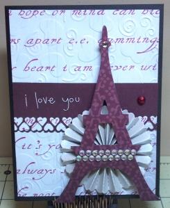 Love Note Valentine Card Swap Entry