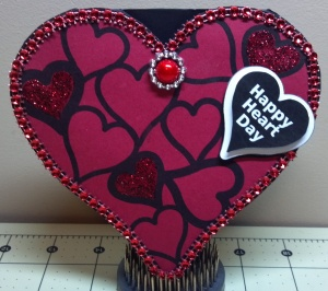Heart Lace Shaped Card - The Cutting Cafe Design Team Project