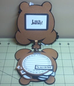 TCC 2013 Goal Calendar Clock Inside With Journal Cards Added