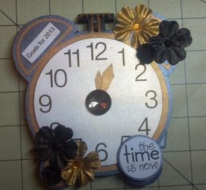 TCC 2013 Goal Calendar Clock Flat View