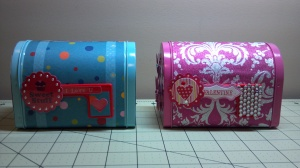 Decorated Target $1 Mailboxes