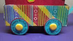 Birthday Celebration Wagon - Wheels