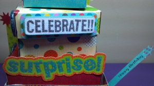 Birthday Celebration Wagon Close Up Details