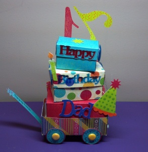 Birthday Celebration Wagon Second Side