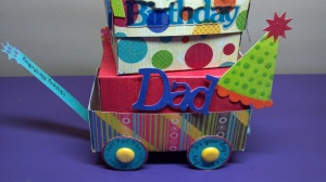 Birthday Celebration Wagon Close Up