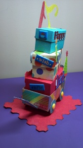 Birthday Celebration Wagon Front
