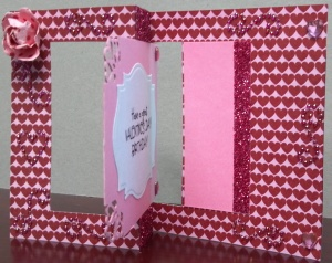 Valentine Birthday Flip Card - Front