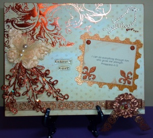 Altered Canvas Inspirational Project