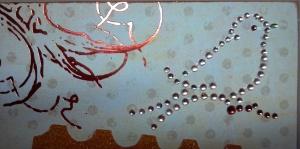 Altered Canvas - Bird Detail