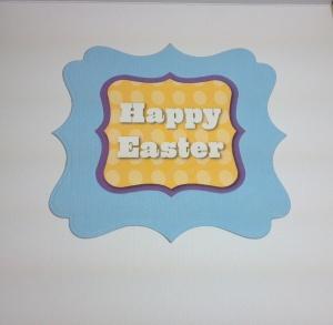 Easter Bunny Card Inside