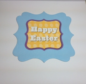 Easter Bunny Card Inside