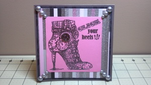 Click Your Heels Thank You Card