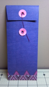 Button and String Envelope Back