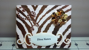 Diva Notes Covered Note Pad