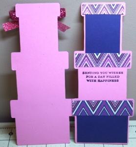 Tall Present Card Inside