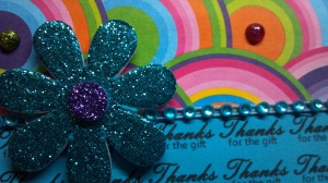 Thank You Card Close Up Flower