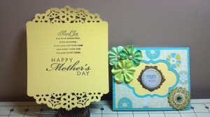 Slide Out Mother's Day Card