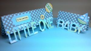 Baby Shower Money/Certificate Holder and Gift Card Holder