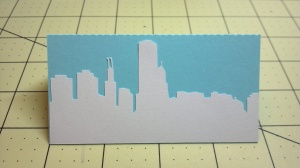 Chicago Skyline Place Card