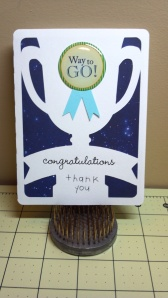 Congratulations Award Card