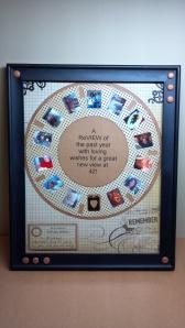 View Finder Reel Framed Card