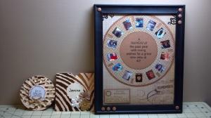 View Finder Reel Card, Envelope, and Framed Card