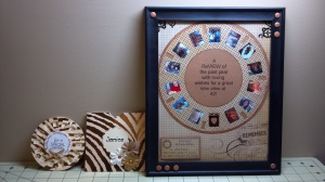 View Finder Reel Card, Envelope, and Framed Card