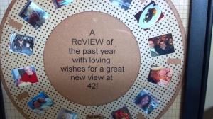 View Finder Reel Framed Card Close Up of Reel