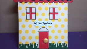 40 New Age Lane Birthday Card - Close Up