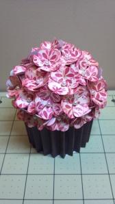 Pink Cupcake Box