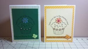 More Cupcake Cards