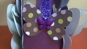 Blingalicious Butterfly Treat Box - Side Close Up View