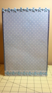 Baby Boy Large Gift Bag - Back