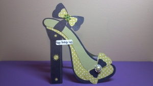 High Heel Shoe Birthday Card