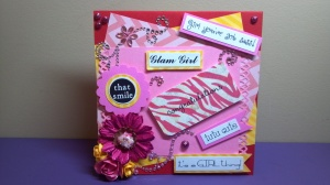 All About Girls Girly Girl Card