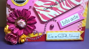 All About Girls Girly Girl Card - Close Up - Bottom