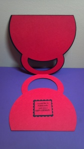 Purse Shaped Card - Inside