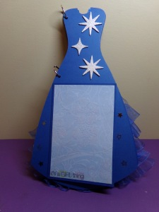 Dress Shaped Mini Album -  Page 2