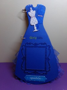 Dress Shaped Mini Album -  Page 4