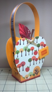 Apple Treat Box - Side View 1