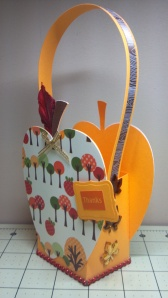 Apple Treat Box - Side View 2