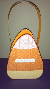 Crazy Candy Corn Treat Box - Back