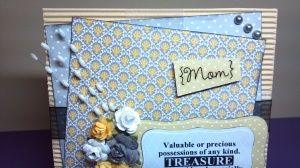 Valuable Treasure Birthday Card - Front Detail