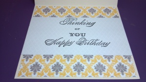 Valuable Treasure Birthday Card - Inside