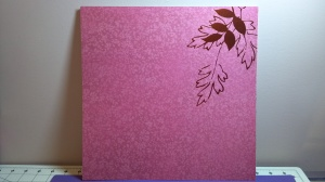 Leaf Scrapbook Page 2
