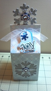 Christmas Snowflake Milk Carton Box 2