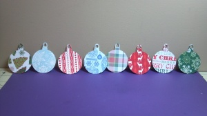 Ornaments for Door Prize Tree